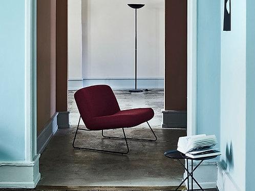 dänischer Sessel mit Metallgestell