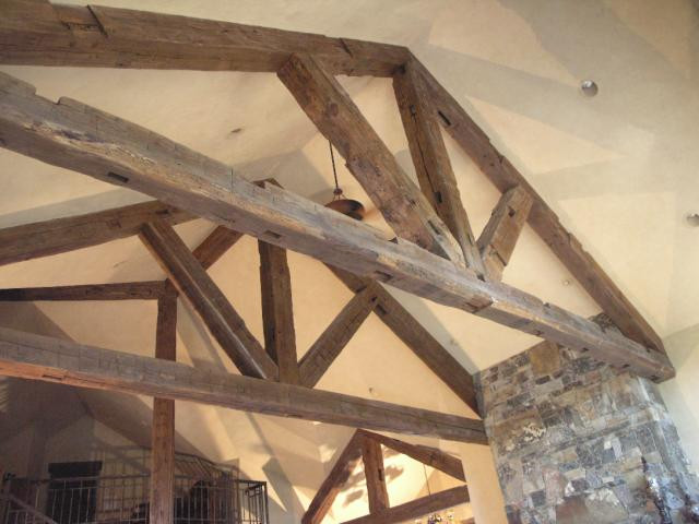 Hand Hewn Timber