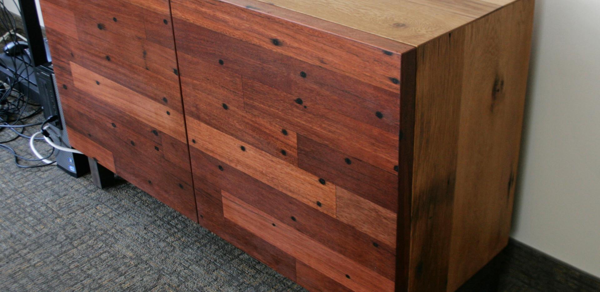 Tobacco Oak & Greenheart Sideboard