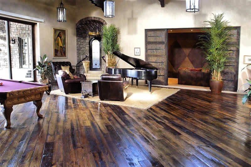 Antique Tobacco Oak PatinaDeep Flooring