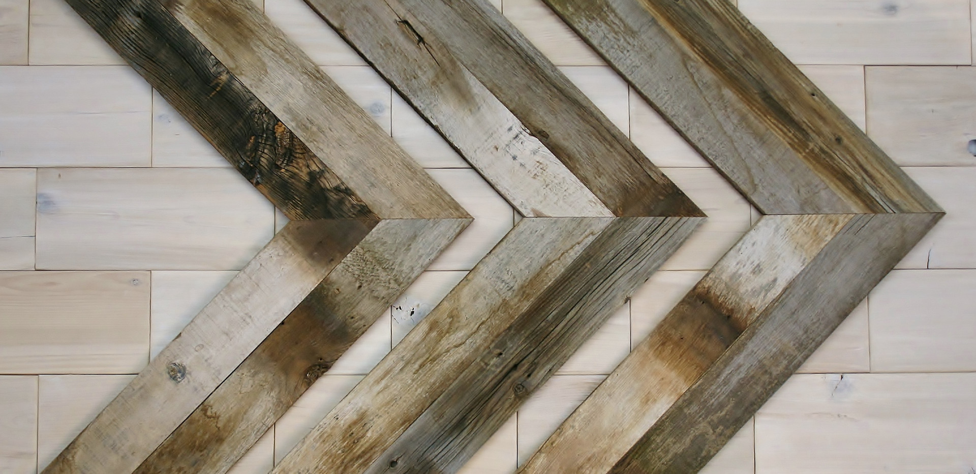 Barn Wood Chevrons
