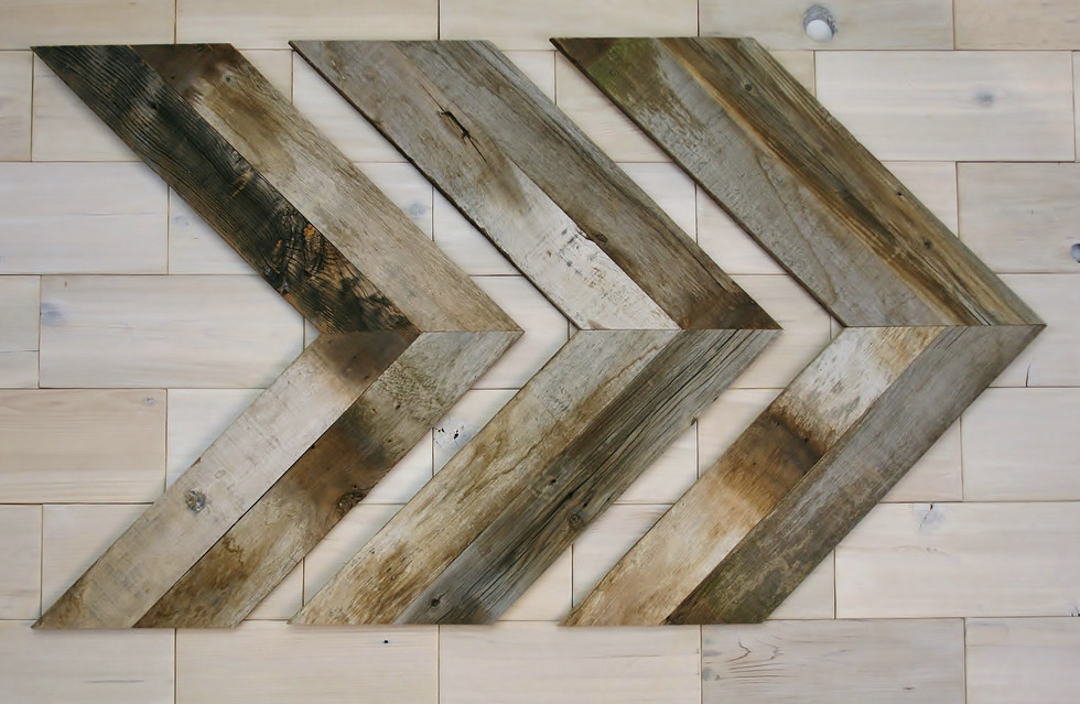Barn Wood Chevrons