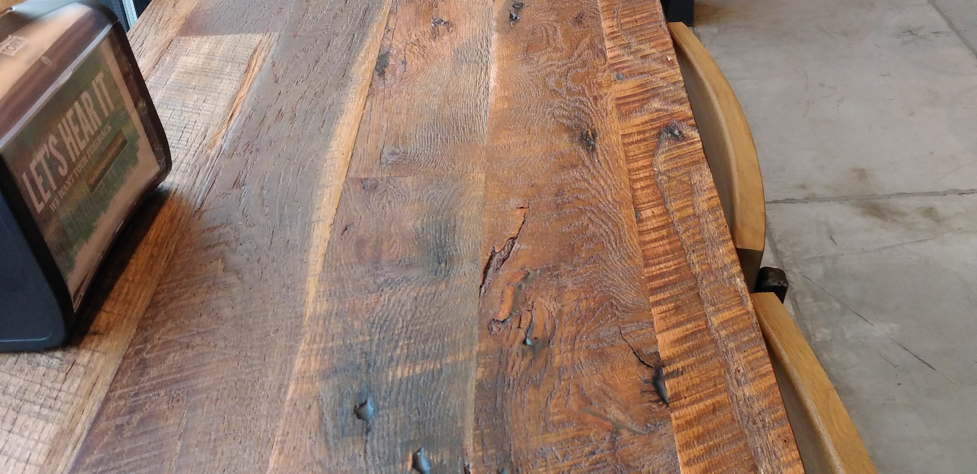 Tobacco Oak Countertop