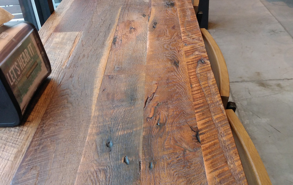 Tobacco Oak Countertop