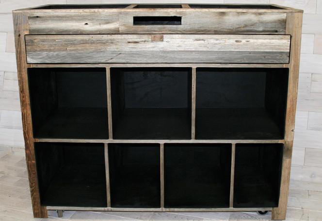 Barn Wood DJ Console