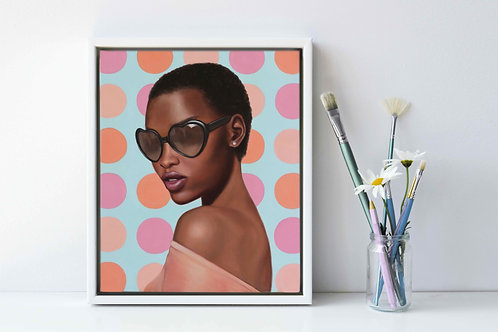 "Original Painting of ""Lady Shades"""