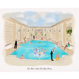 The Ritz Pool Paris