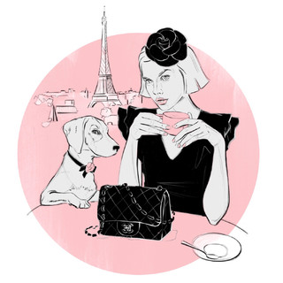 Paris with my Bestie