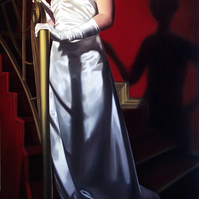 The Torch Singer  Oil on Belgian Linen