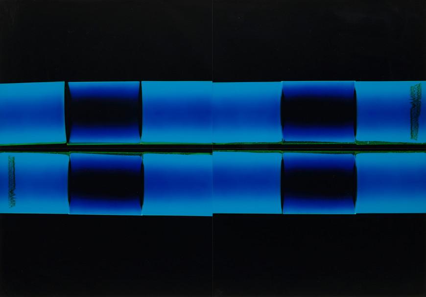 Darkroom blue