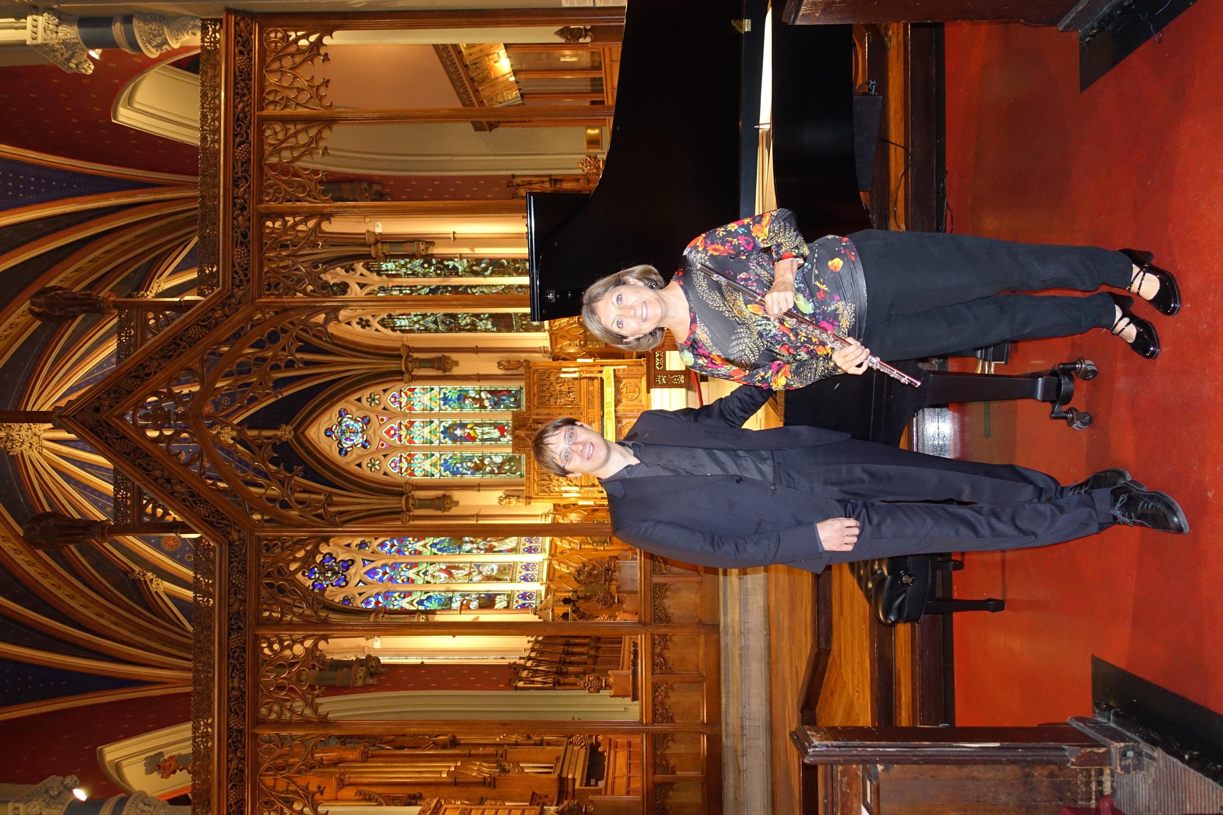 Judy with Martin Karlíček. 2016
