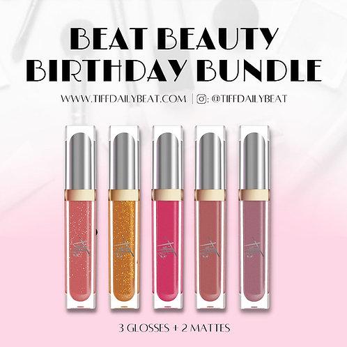 Beat Beauty Birthday Lip Bundle
