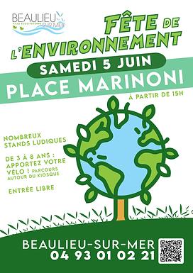 Ateliers Mer Soleil Santé lors de la fête de l'Environnement à Beaulieu-sur-Mer