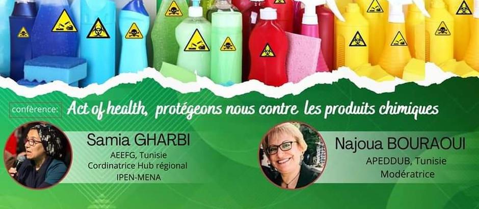 """Webinaire Act For Health """"Protégeons-nous contre les produits chimiques"""""""