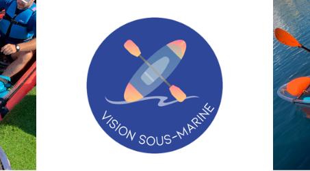 Vision sous-marine, une expérience en kayak transparent proposée par le CDMM