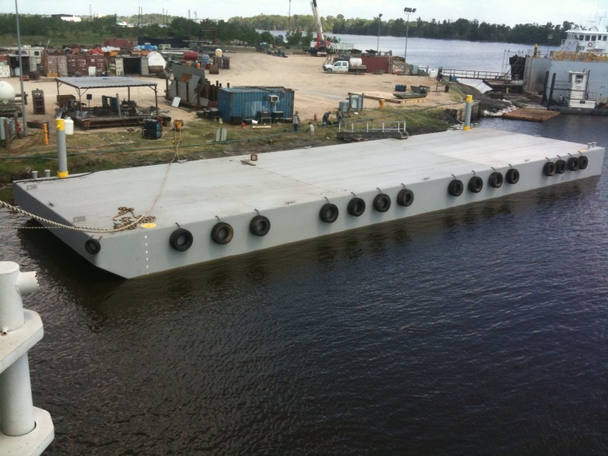 135 x 35 Ft NEW Deck Barge