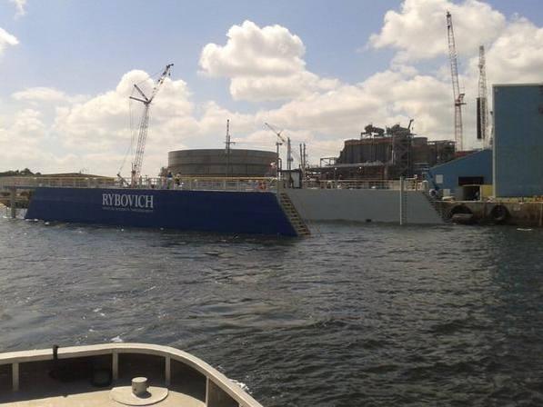 200 x 85 Ft NEW Floating Drydock