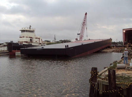 220 X 56 New Deck Barge