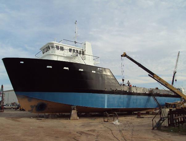 136 Ft NEW Utility Vessel