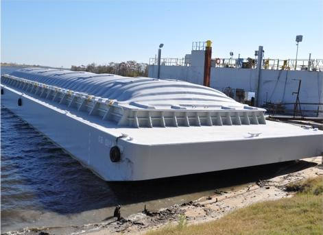 140 X 40 FT NEW Hopper Barge
