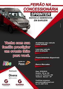 Feirão Sprinter 2016