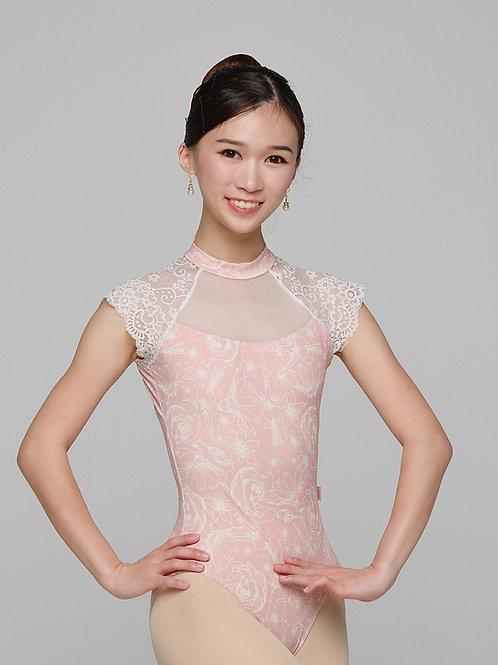 Leotard- Giselle- Pink Floral