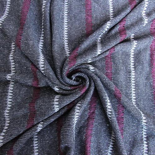 #L002 Three Color Striped (Gray)
