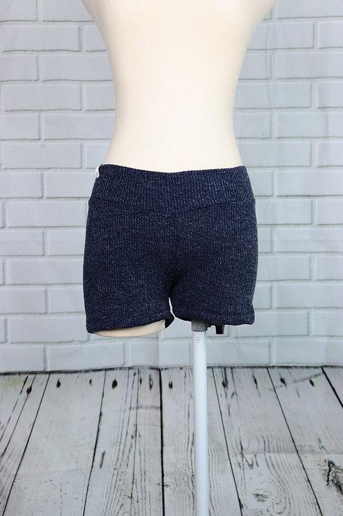 Shorts-Navy Rib- S