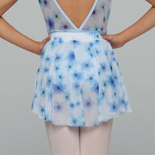 Mini Skirt- Blue Floral