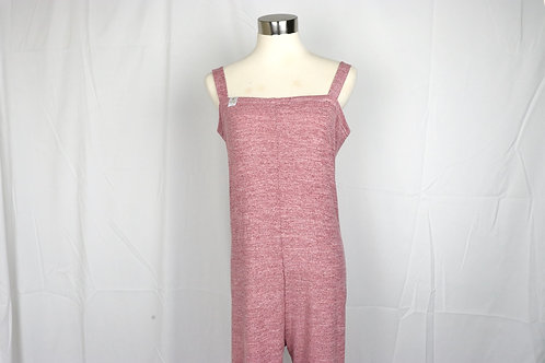 Long Romper- Light wine red- XS