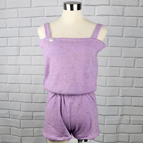 Short romper - Lilac- XS (KID SIZE)