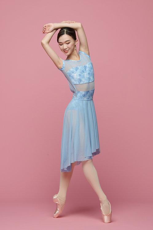 Frozen Ice Blue Skirt