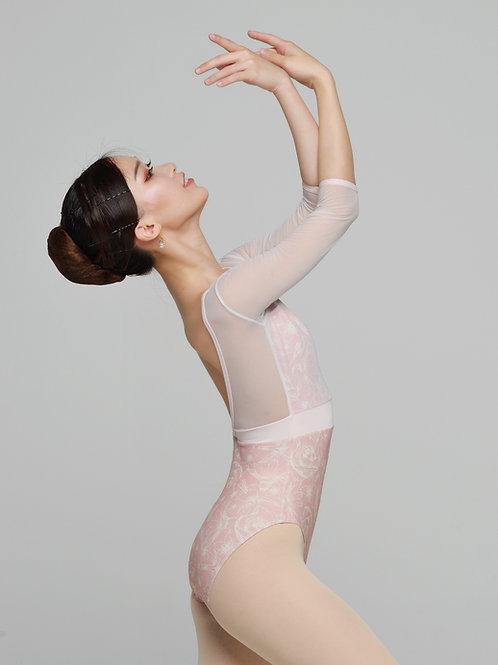 Leotard- Titania- Pink Floral