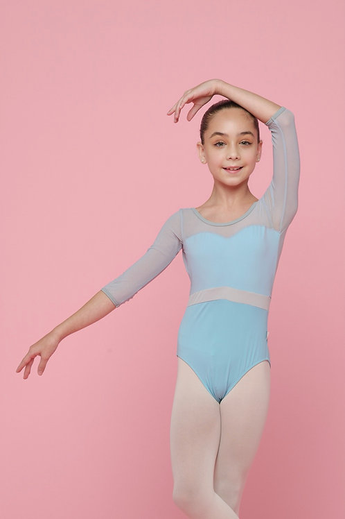Leotard- Titania- Aqua Blue
