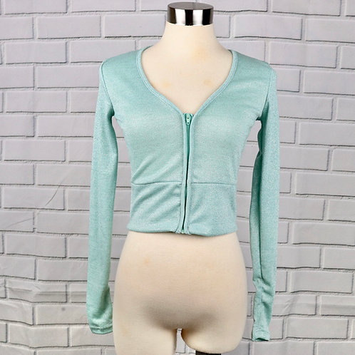 Jacket- Sparkly Mint- XS