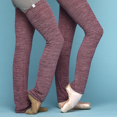 Leg warmer-Plum