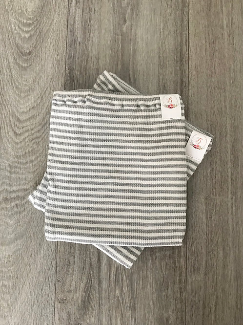 RTS#70 Gray & White Stripes-XS
