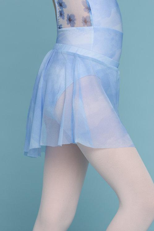 Mini Skirt- Blue Symphony
