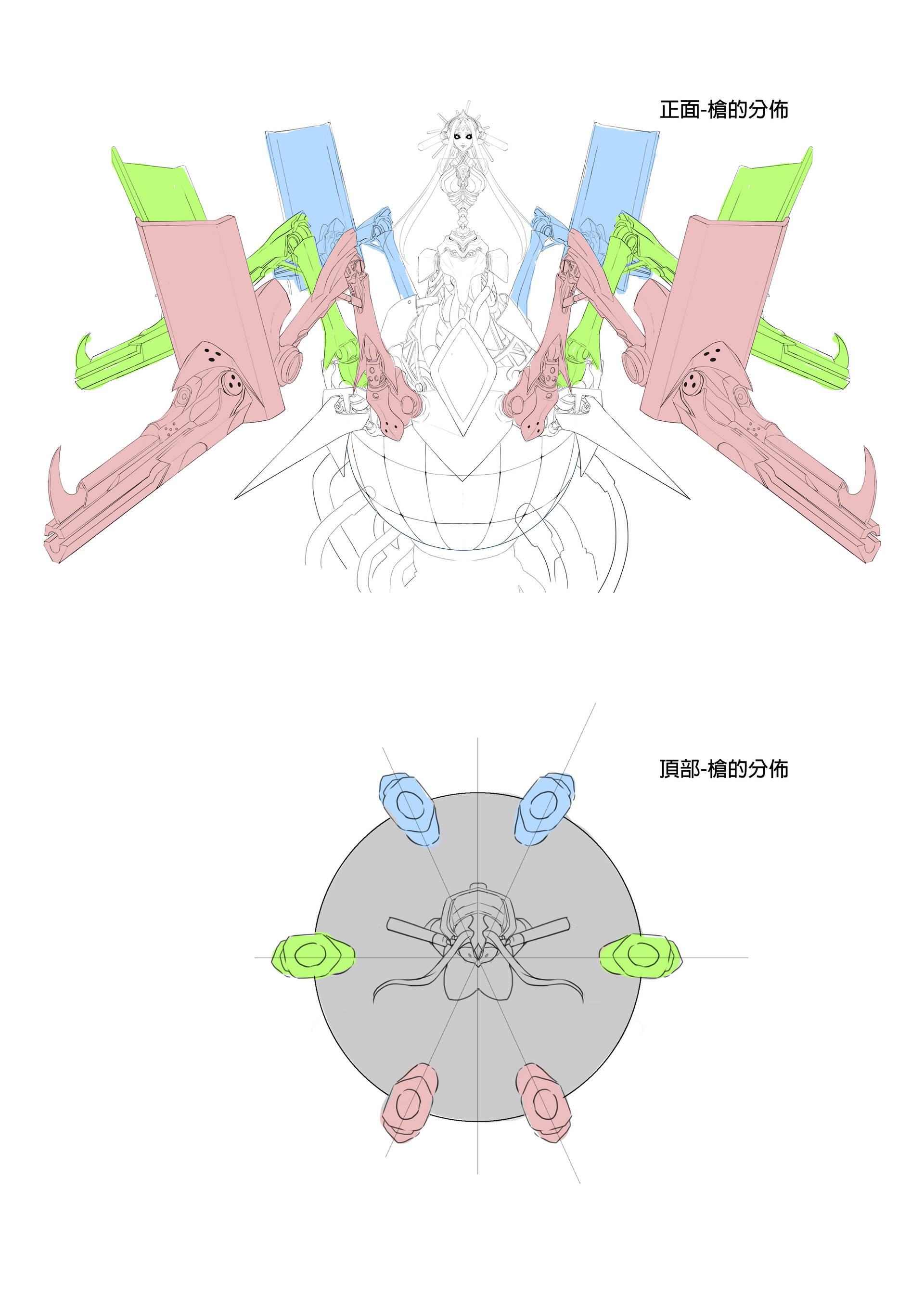 機械化夏馬西_武器配件解析