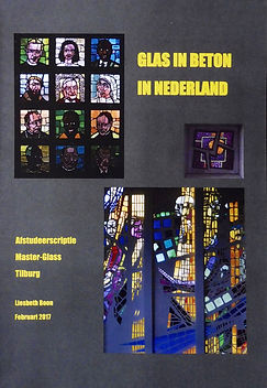 Glas in beton in Nederland, scriptie