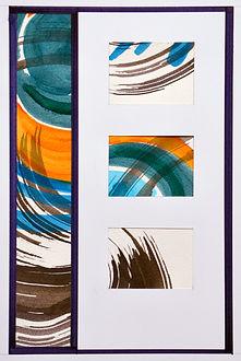 Liesbeth Boon: ontwerp glasappliqué voor hal en voordeu