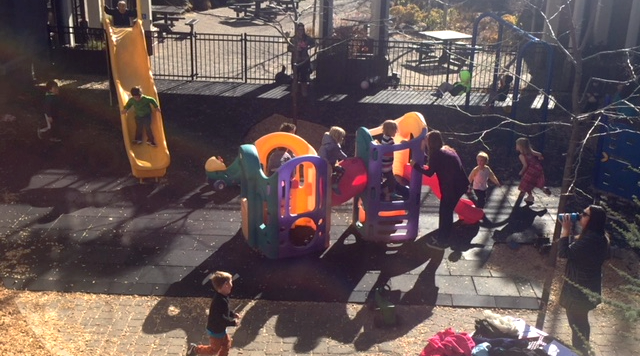 We love our new playground!