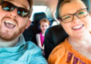 Nutter Family road trip throug Arizona