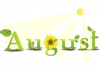 YIKES, IT IS ALMOST AUGUST!