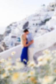 Santorini Honeymoon photo shoot