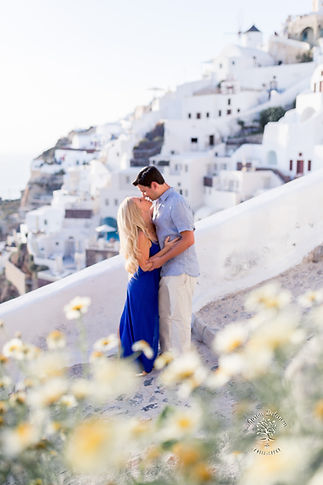 Santorini Honeymoon photo shoot