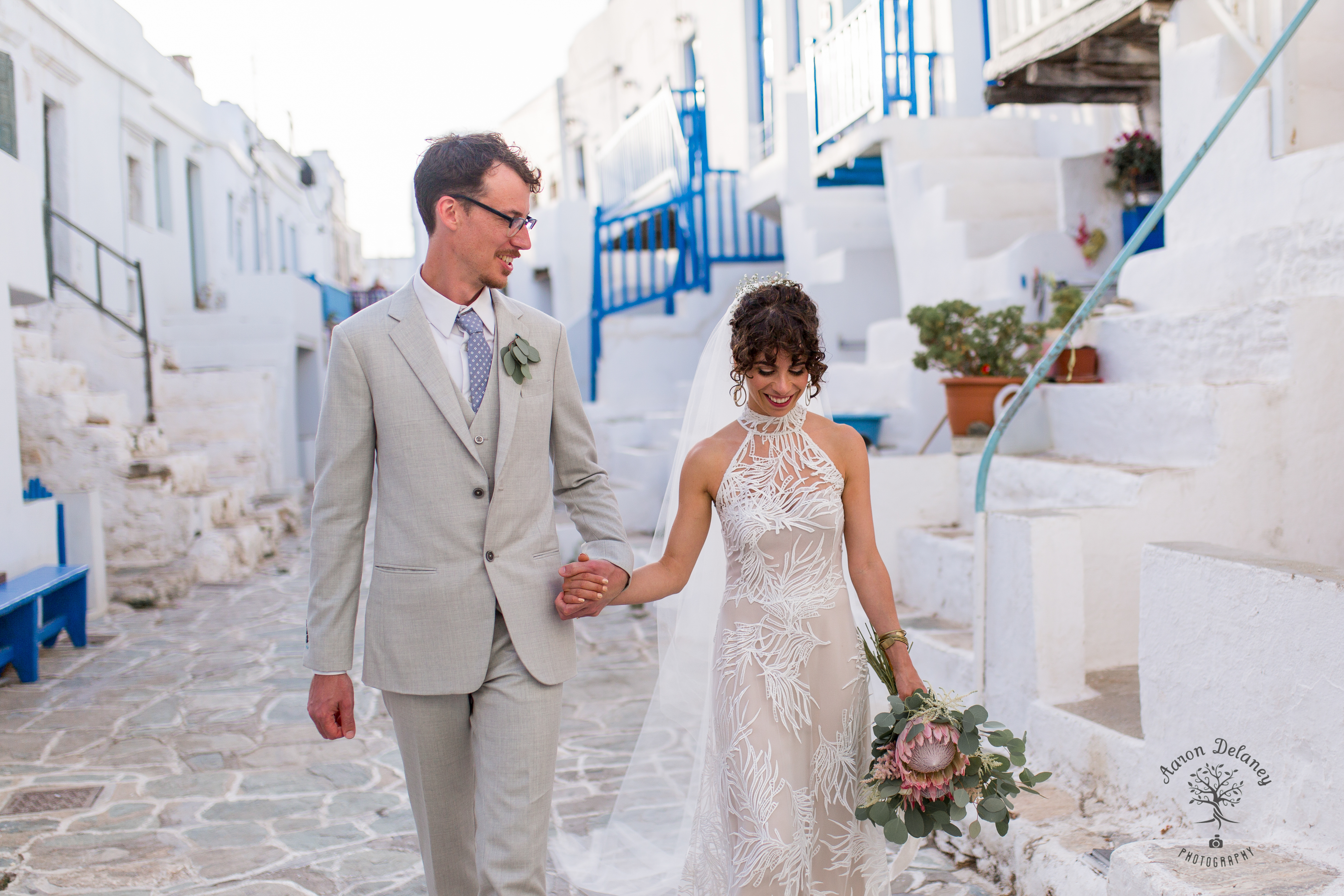 Folegandros wedding