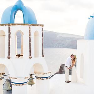Jordan & Blake - Santorini