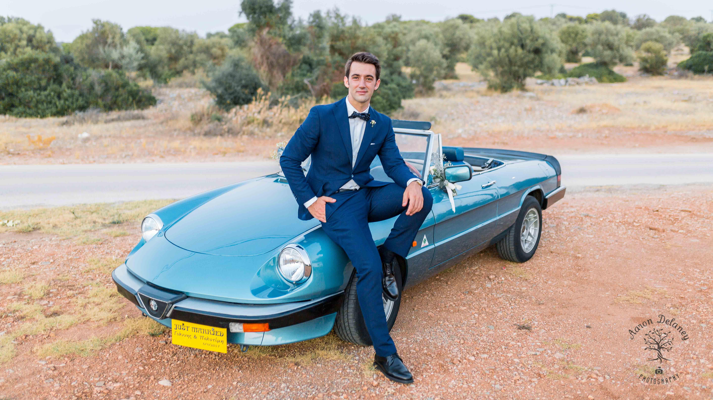 Greek groom