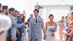 Santorini Gem wedding